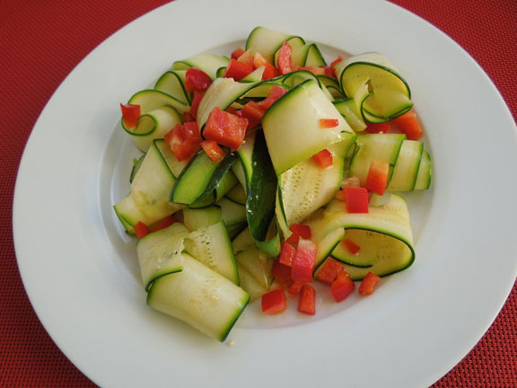 Салат из цукини
