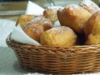 Пончики из рикотты