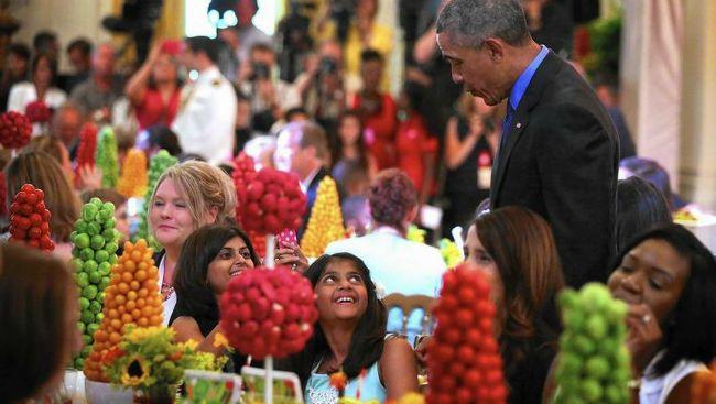 Шрея Пател встретилась с Бараком Обамой