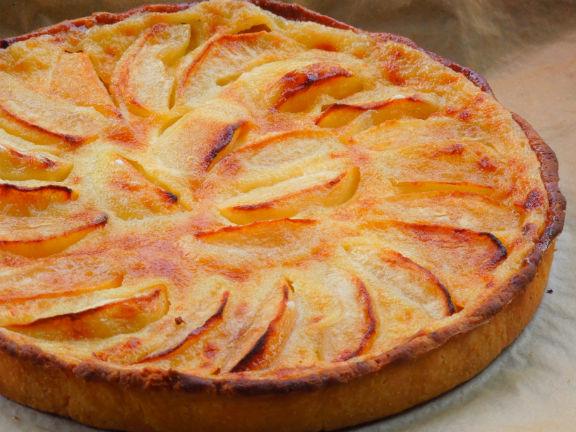 Французский яблочный пирог