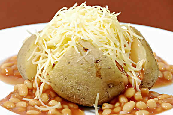 Картофель, запеченый в духовке с сыром