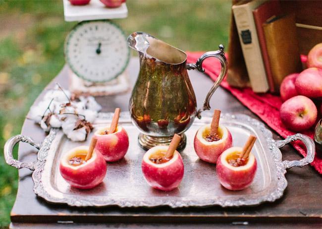 Яблочные чашки