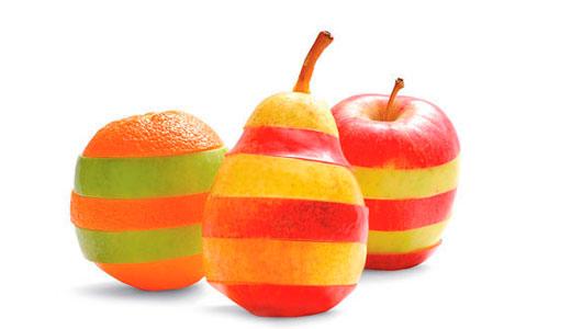Яблоки в полоску