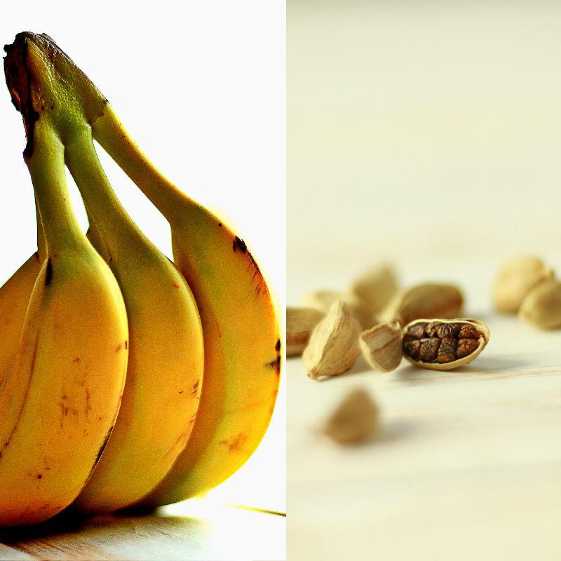 Вкусовое сочетание - банан и кардамон