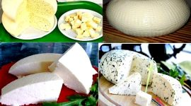 Домашний сыр из молока сметаны и яиц