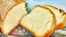 Хлеб на кефире в духовке рецепт