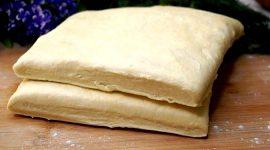 Как быстро сделать слоеное тесто в домашних условиях