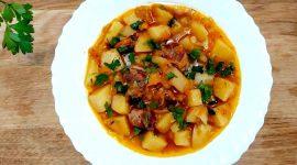 Как готовить тушеную картошку с мясом