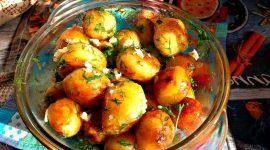 Как пожарить картошку на сковороде с золотистой корочкой
