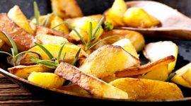 Как пожарить картошку в мультиварке с корочкой