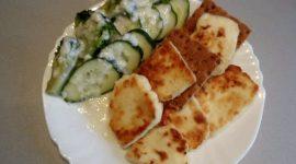 Как пожарить сыр адыгейский на сковороде