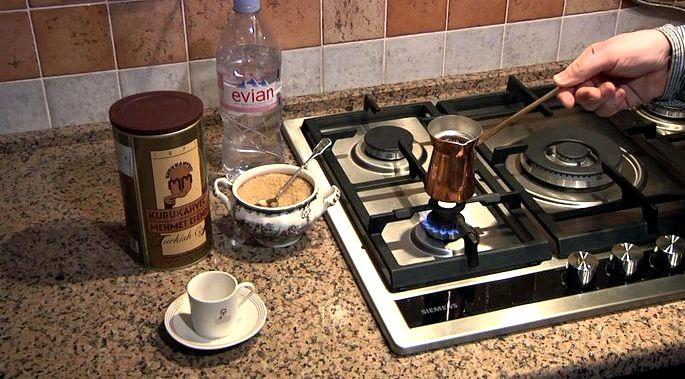 Как правильно варить кофе в турке или среднему, от низкого варианта