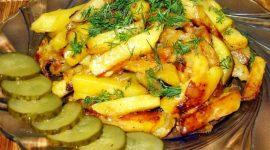 Как правильно жарить картошку с луком