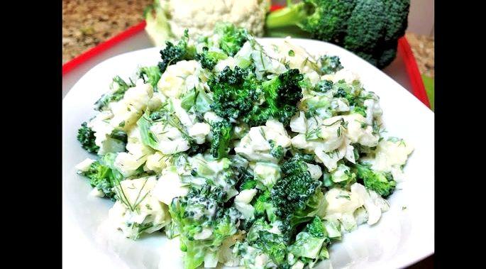 Засолка брокколи и цветной капусты