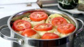 Как приготовить фаршированный перец с фаршем
