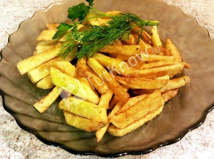 Как приготовить картофель фри в домашних условиях мелкой терке маринованным