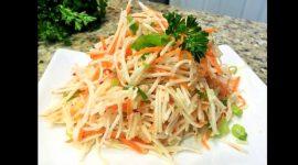 Как приготовить салат из редьки черной