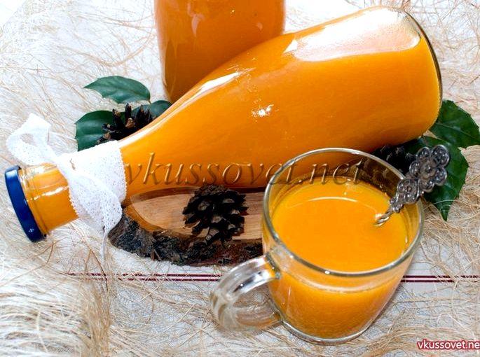 Как приготовить тыквенный сок в домашних условиях конкретное количество сахара корректируйте