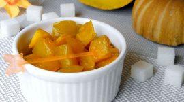 Как приготовить тыкву в духовке кусочками с сахаром