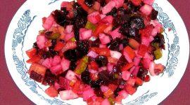 Как приготовить винегрет из свежей капусты