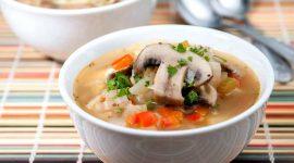 Как варить грибной суп из замороженных грибов