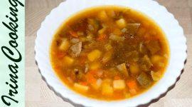 Как варить суп из сушеных белых грибов