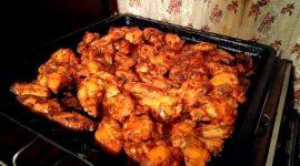 Как замариновать куриные крылышки для духовки