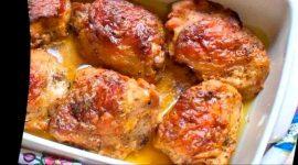 Как запечь бедра курицы в духовке
