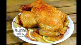 Как запечь курицу в духовке с корочкой