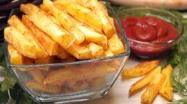 Картошка фри без масла в духовке