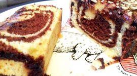 Кекс мраморный рецепт с фото пошагово