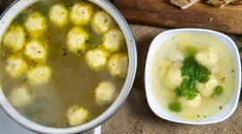 Клецки из манки для супа рецепт