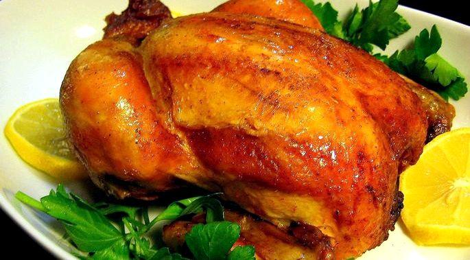 Курица в духовке с корочкой рецепт с фото минут, чтобы