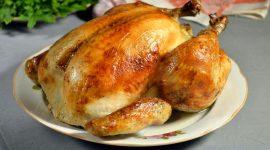Курица в духовке с корочкой рецепт с фото