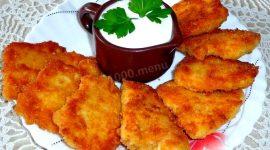 Куриная грудка в кляре на сковороде рецепт с фото