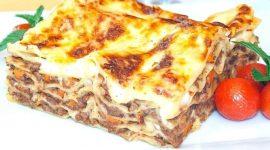 Лазанья рецепт классический с соусом бешамель
