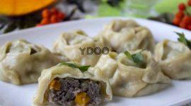 Манты с тыквой и мясом рецепт