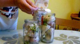 Маринование чеснока в домашних условиях рецепт