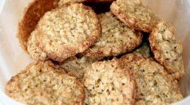 Овсяное печенье из овсяной муки рецепт
