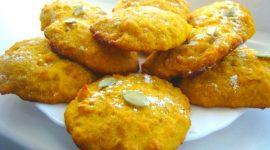 Печенье из тыквы и овсяных хлопьев