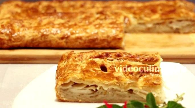 Слоеные пироги с картошкой