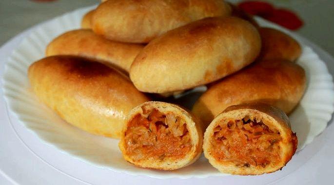 Пирожки с картошкой в духовке пошаговый рецепт с фото застеленный пергаментной