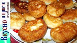 Пирожки с повидлом жареные в масле