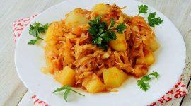 Потушить картошку с мясом в мультиварке
