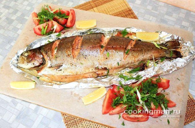 Сколько в духовке готовится рыба в фольге