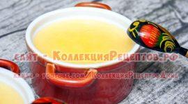 Приготовить топленое масло в домашних условиях