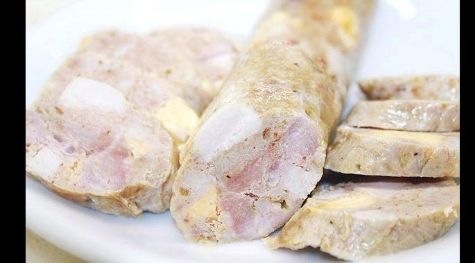 Приготовление домашней колбасы из свинины в домашних условиях