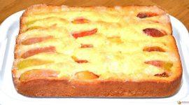 Простой и вкусный пирог на кефире