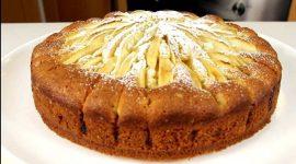Простой и вкусный пирог с яблоками