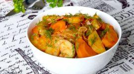 Рагу из кабачков и картошки с мясом